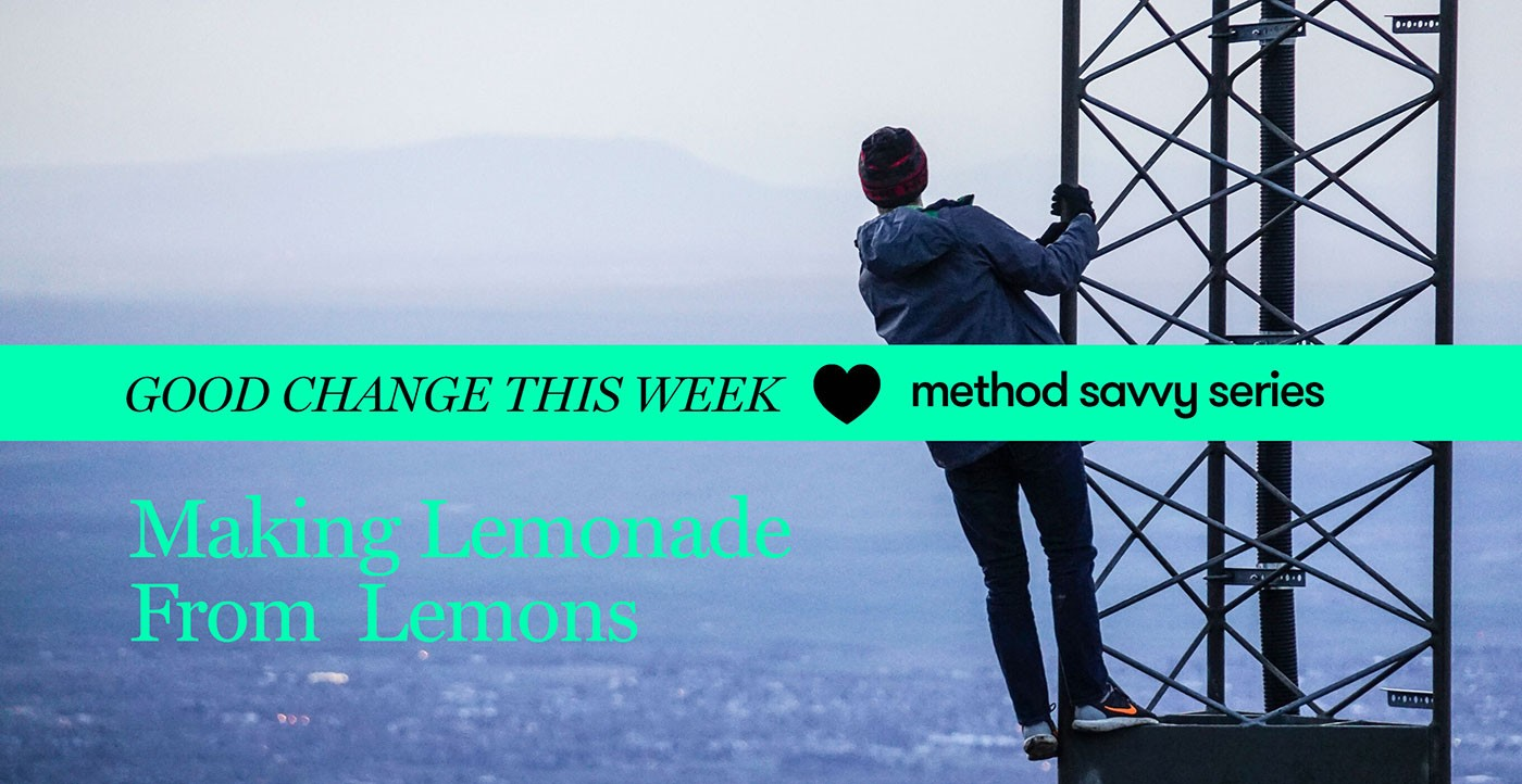 Good Change This Week at Method Savvy